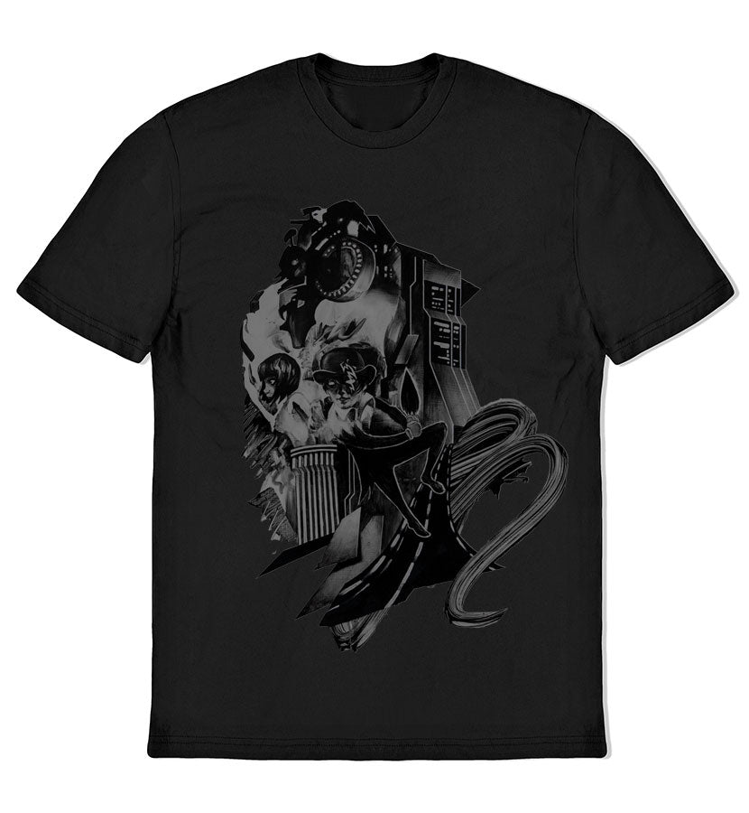 ...Of Nightmares Charcoal Cover T-Shirt
