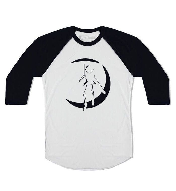Poet Anderson-Original Icon Unisex Raglan White/Black-small-To The Stars...