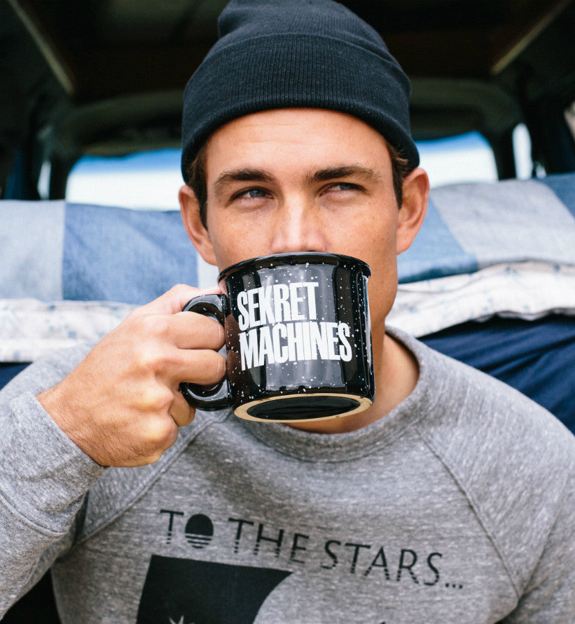Sekret Machines Camper Mug Black - To The Stars - 1