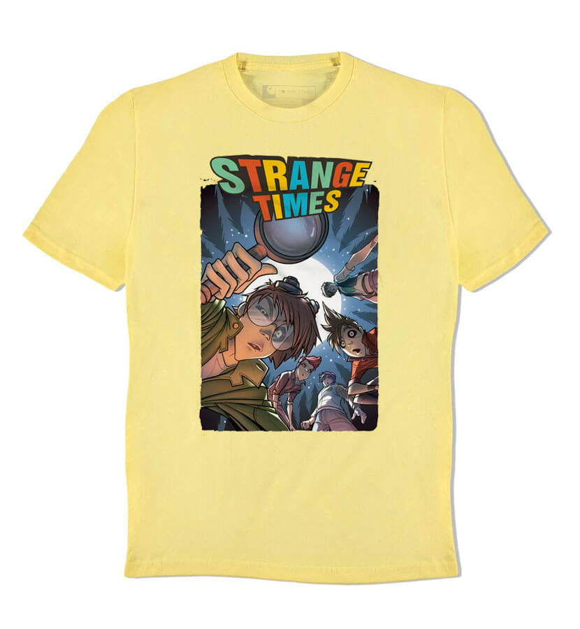 The Curse of Superstition Mountain T-Shirt Yellow
