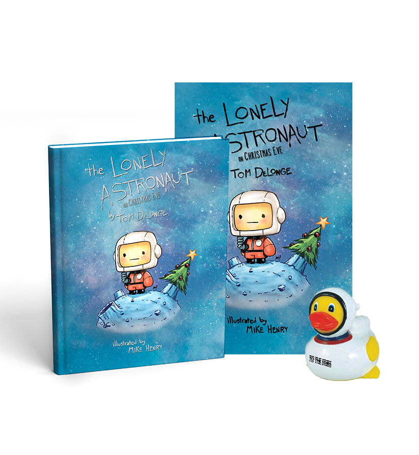 The Lonely Astronaut On Christmas Eve Glow in Dark Bundle Edition - To The Stars...