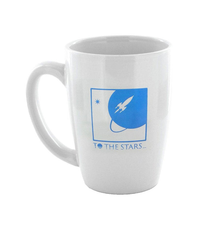 To The Stars Inc. Full Icon Coffee Mug White/Blue - To The Stars - 1