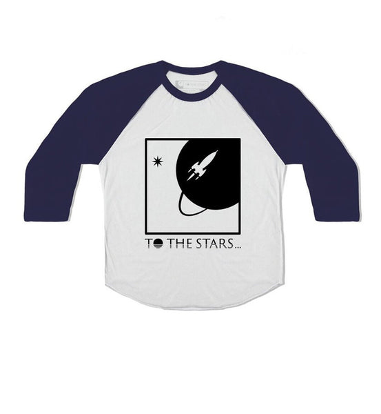 Full Icon Unisex Toddler Raglan White/Navy