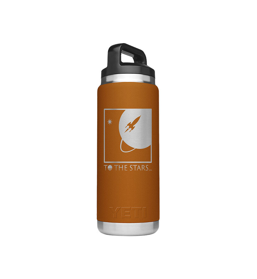 Full Icon Yeti Rambler 26 oz Bottle Clay