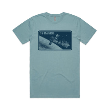 Orbit Tone T-Shirt Slate Blue