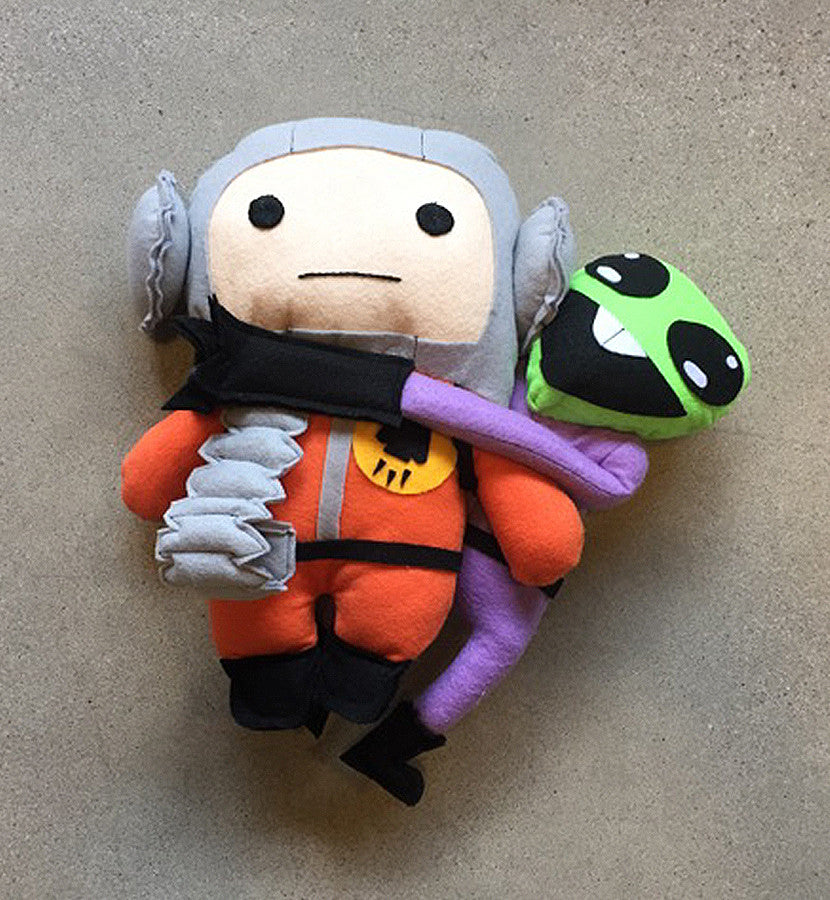 The Lonely Astronaut Alien Plush Toy - To The Stars - 2