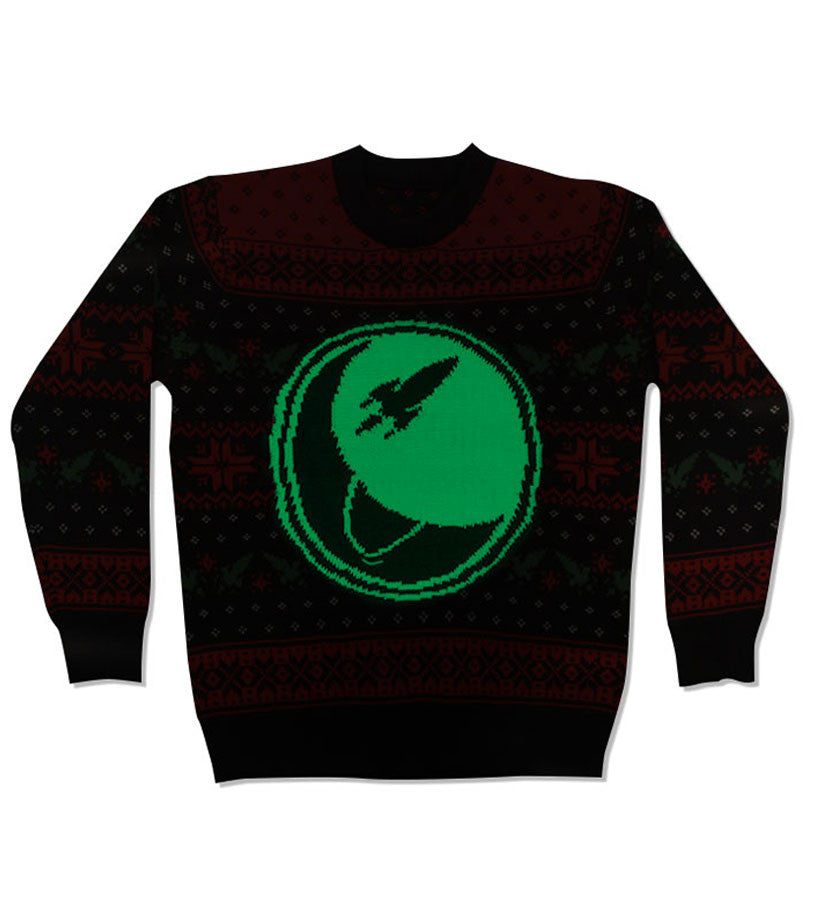 Circle Logo Glow-In-The-Dark Holiday Knit