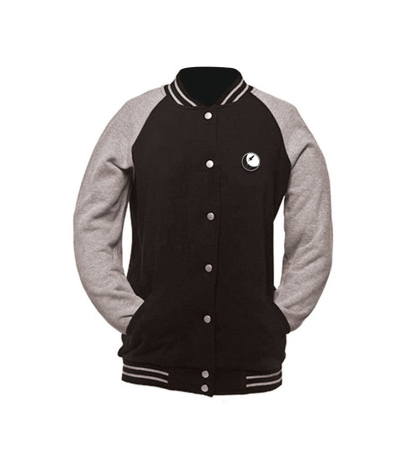 To The Stars Inc. Embroidered Varsity Jacket - To The Stars - 1