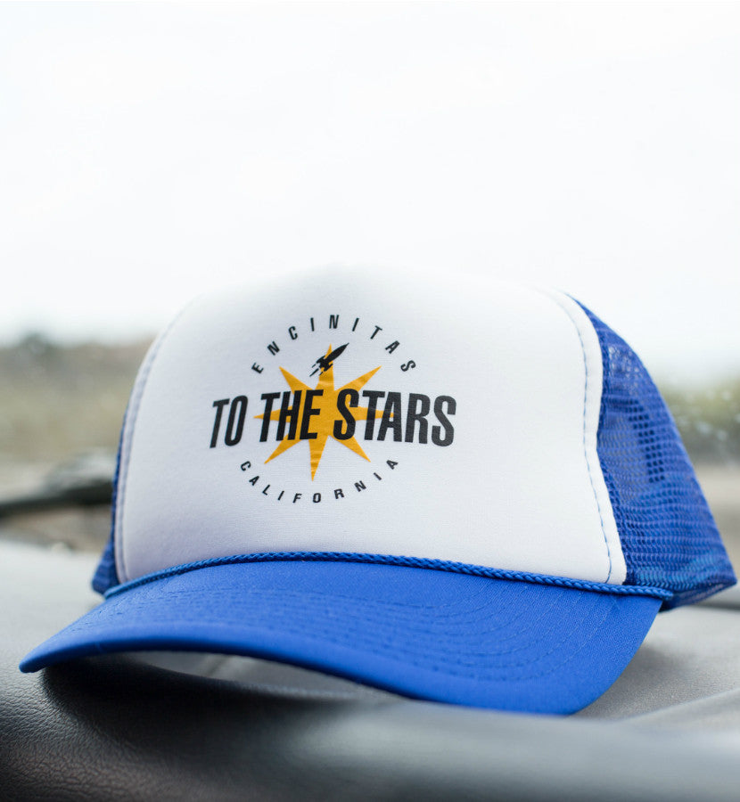 To The Stars Inc. Encinitas Burst Trucker Hat Blue - To The Stars - 2