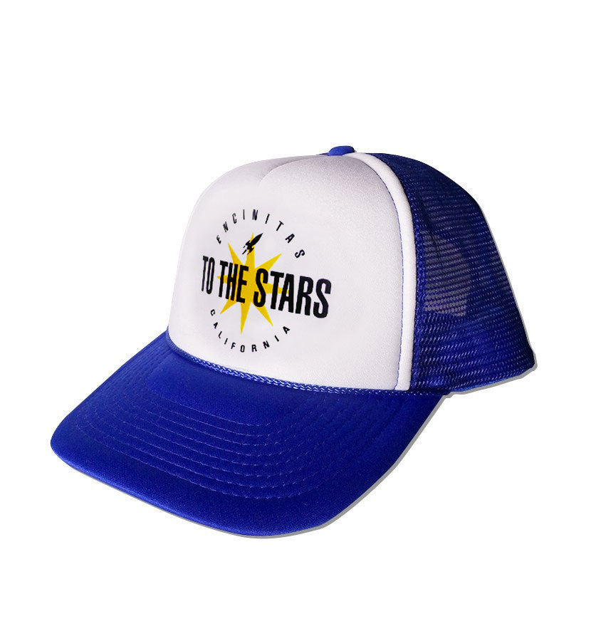 To The Stars Inc. Encinitas Burst Trucker Hat Blue - To The Stars - 1