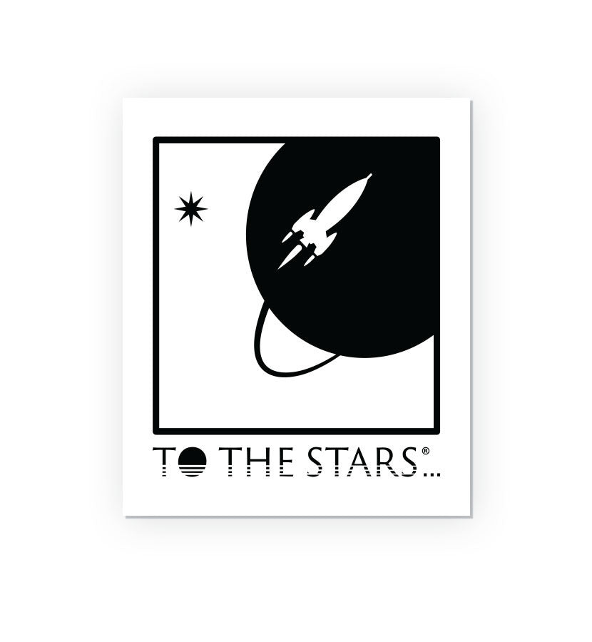 To The Stars Inc. Full Icon Vinyl Gloss Sticker - To The Stars