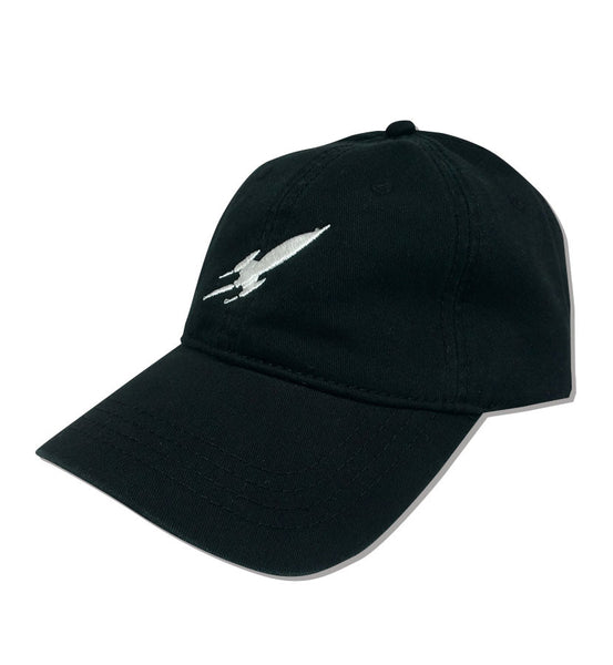 Rocket Dad Hat Black
