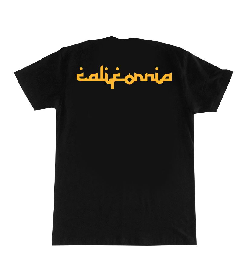Encinitas Temple T-Shirt Black