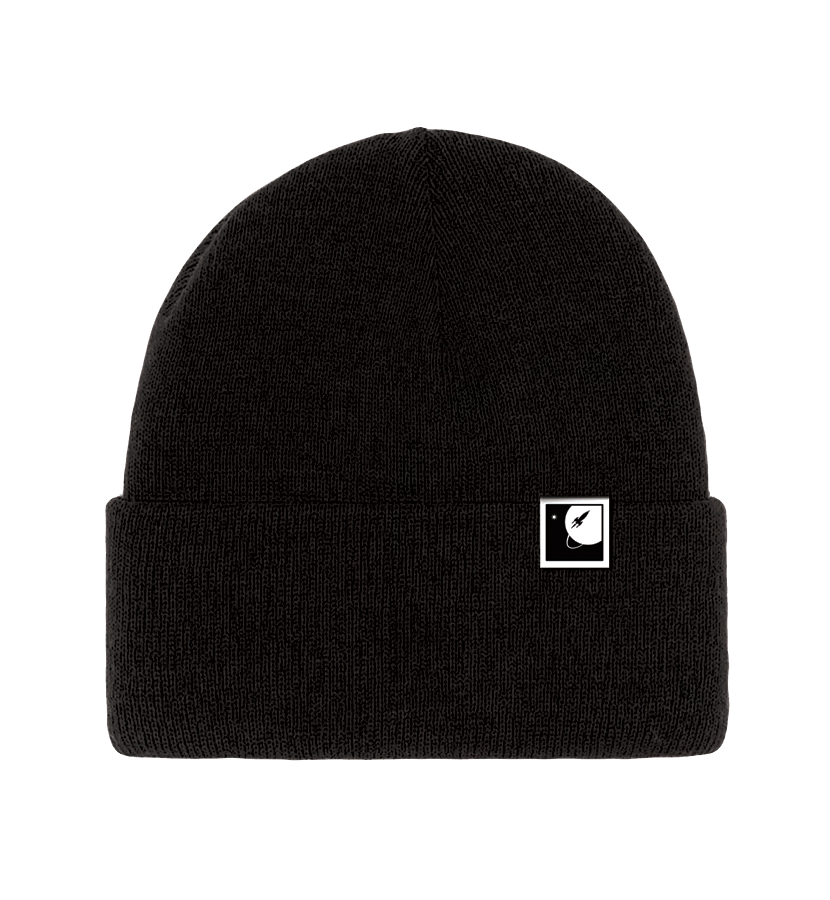 To The Stars Inc. Logo Foldover Beanie Black - To The Stars - 1