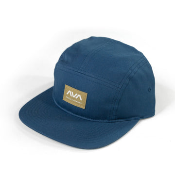 Angels and Airwaves Clean Logo 5-Panel Hat Navy - To The Stars...
