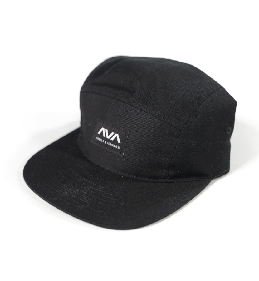 Angels and Airwaves Clean Logo 5-Panel Hat Black - To The Stars...