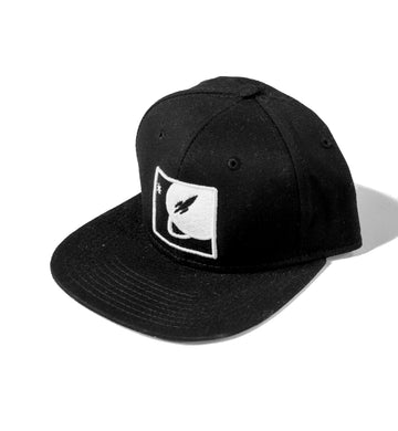 To The Stars Inc. Full Icon 3D Snapback Black - To The Stars...