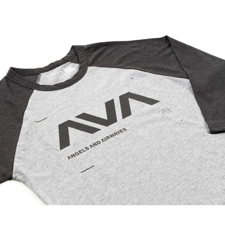 Data Unisex Raglan Heather Grey/Asphalt