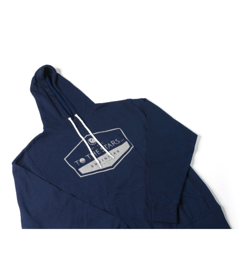 Established Unisex Pullover Hoodie Navy
