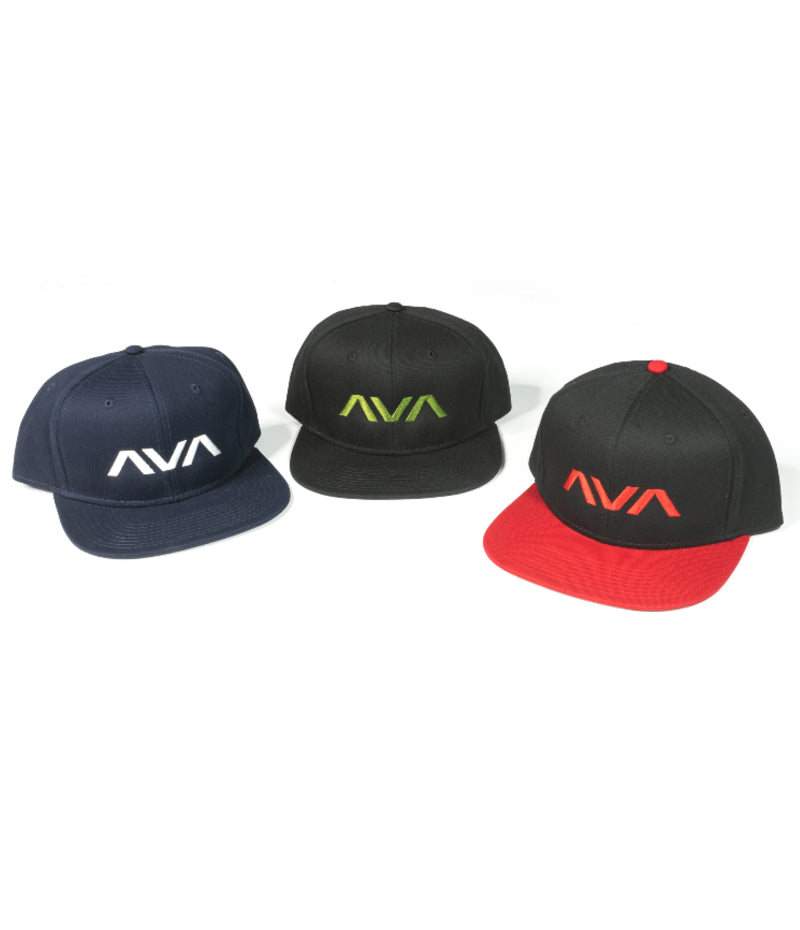Clean Logo Snapback Hat Black/Olive