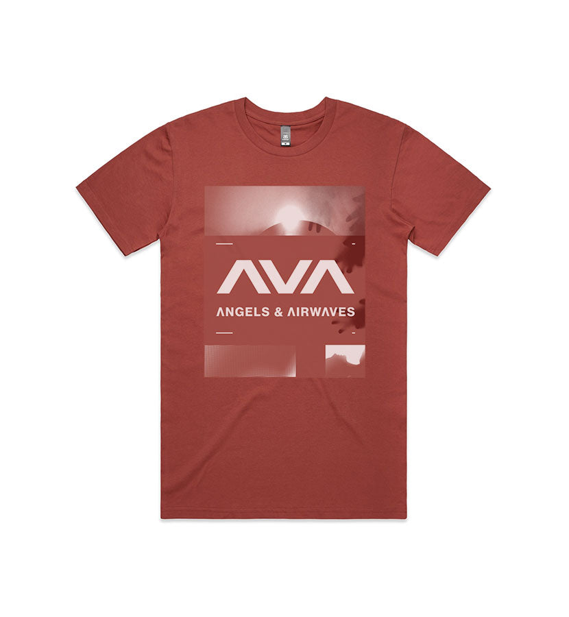 Angels and Airwaves Announcement T-Shirt Coral