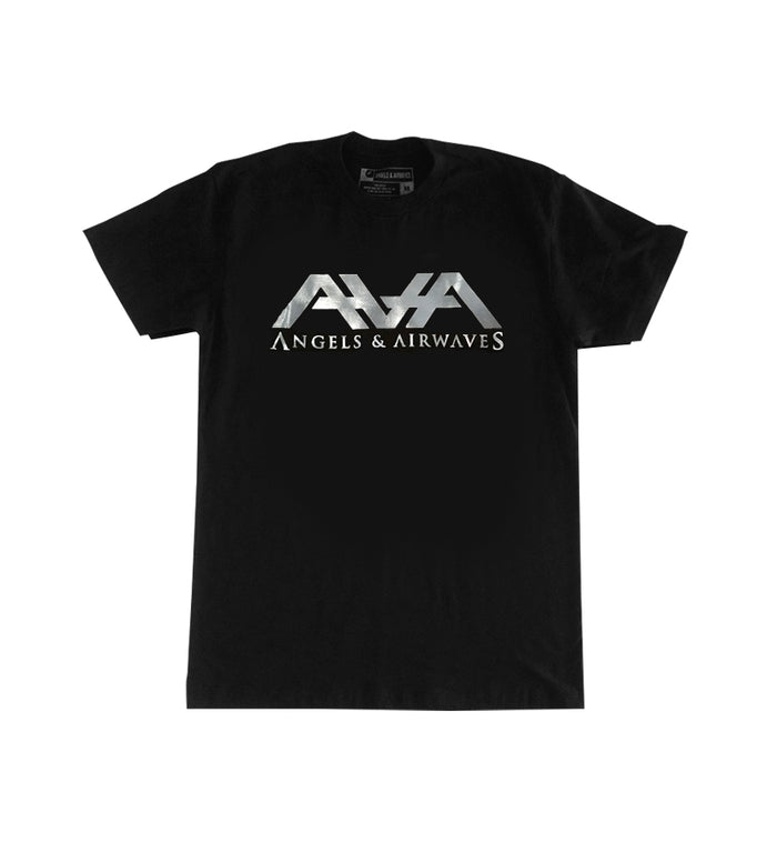 Angels and Airwaves Band Logo Foil T-Shirt Black/Silver - To The Stars...
