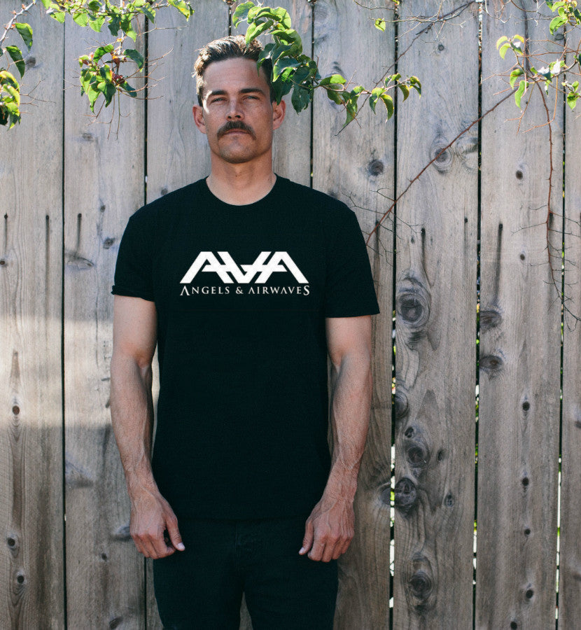 Angels and Airwaves-Band Logo T-Shirt-Premium Heather-x-small-To The Stars...