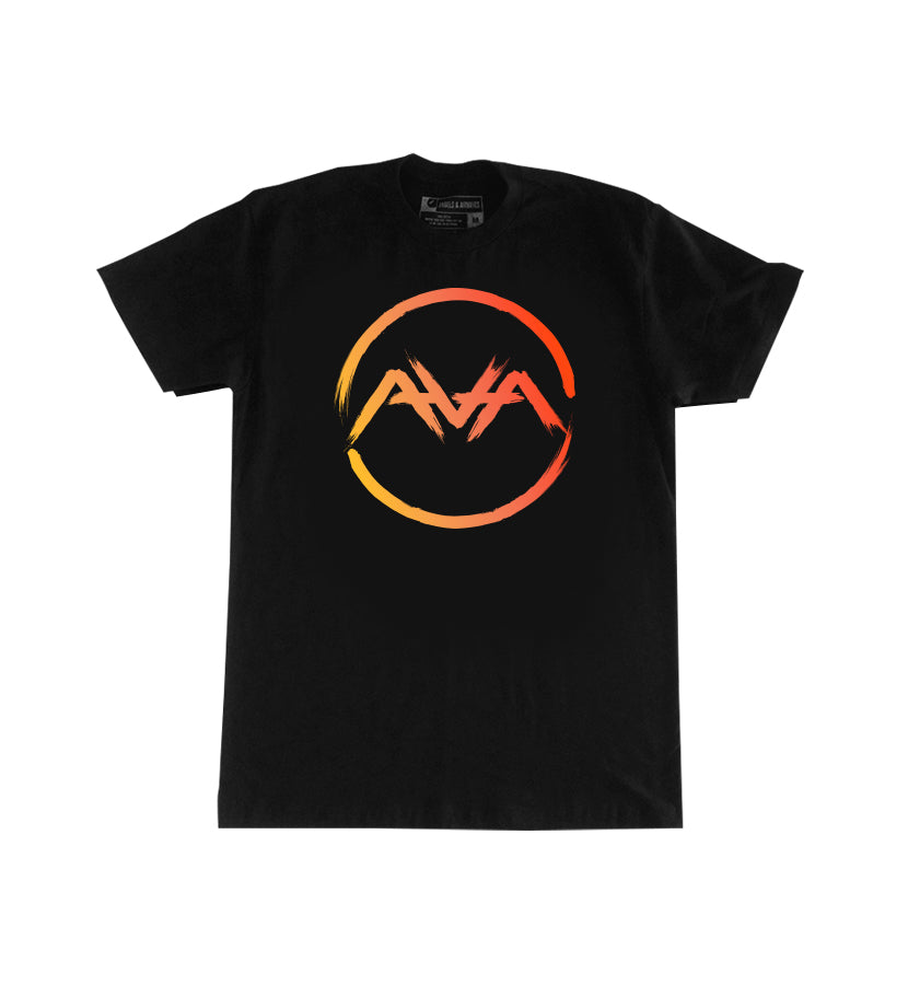 Angels and Airwaves Brushes Circle T-Shirt Black - To The Stars...