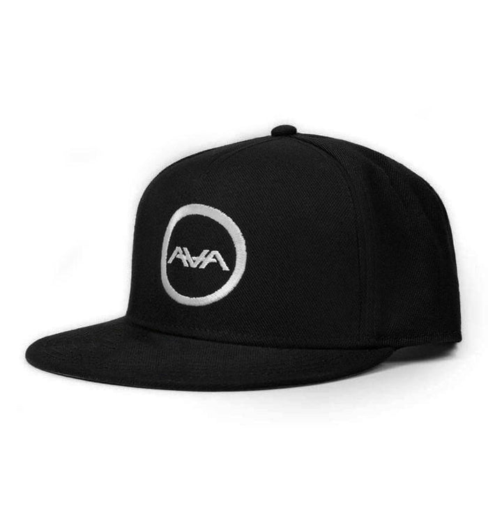 Angels and Airwaves Circle Logo Snapback Hat Black - To The Stars - 2