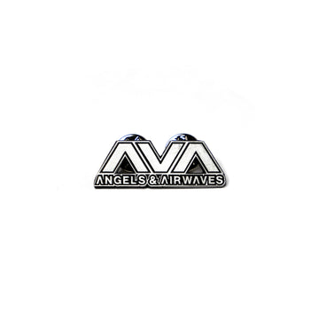 Clean Logo Lapel Pin Silver