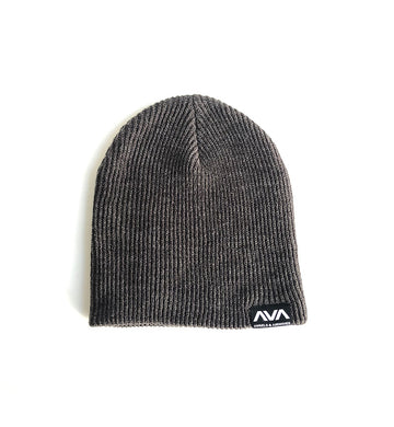Angels and Airwaves Clean Logo Patch Slouch Beanie Heather Charcoal - To The Stars...