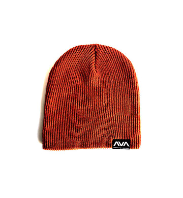 Angels and Airwaves Clean Logo Patch Slouch Beanie Rust - To The Stars...