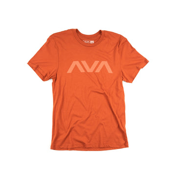 Angels & Airwaves Clean Logo Tonal T-Shirt Red Clay | To The Stars
