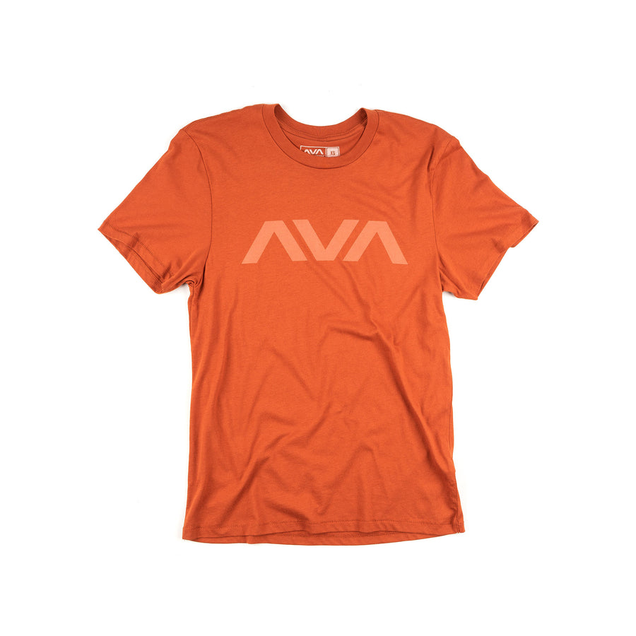 Clean Logo Tonal T-Shirt Red Clay