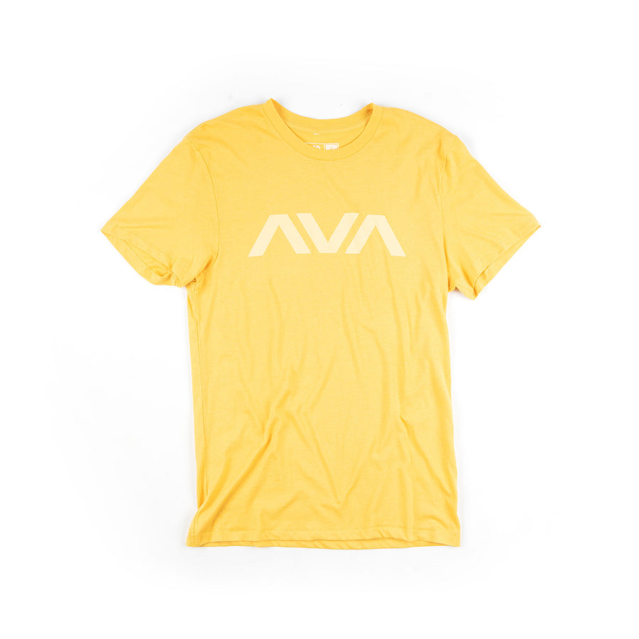 Angels & Airwaves Clean Logo Tonal T-Shirt Yellow Ochre