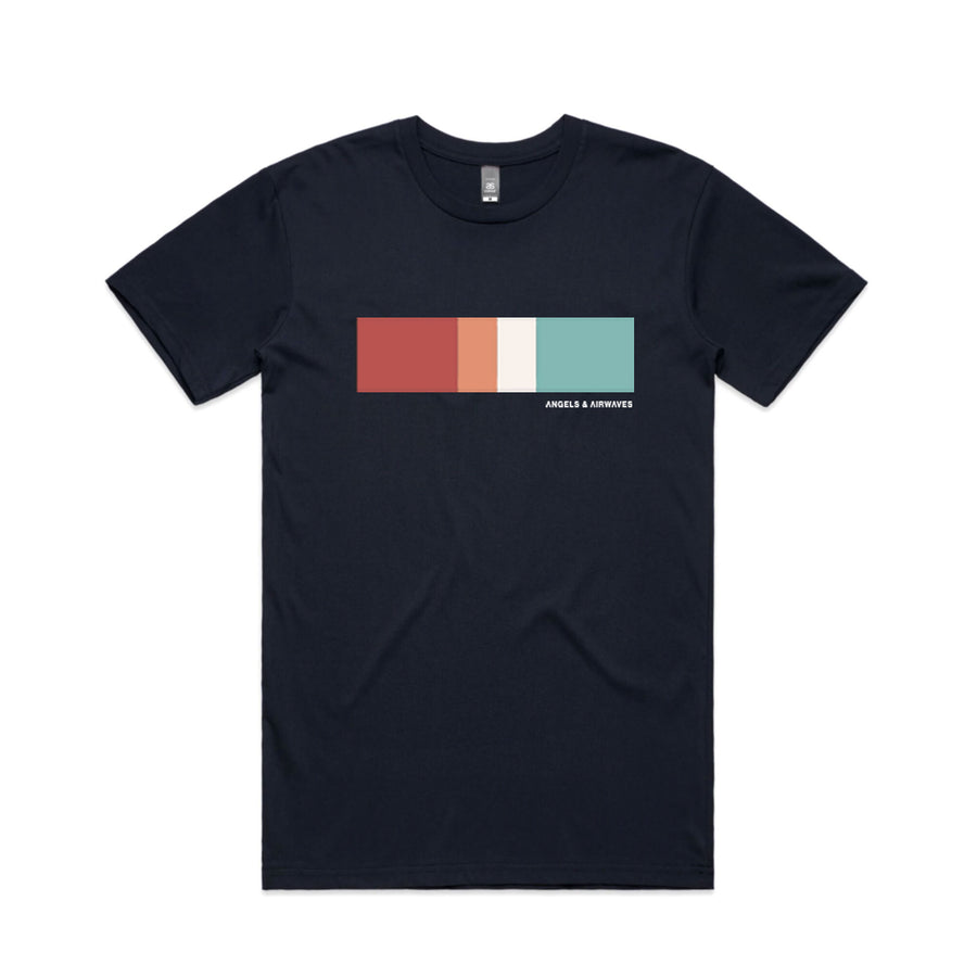 Color Block T-Shirt Navy | Angels and Airwaves