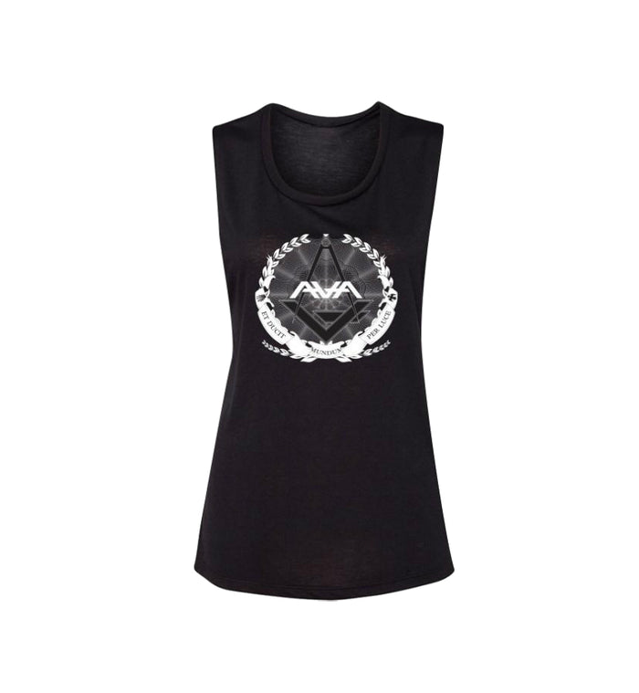 Compass Women's Muscle Tank Top