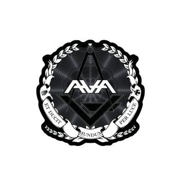 Crest Die Cut Sticker