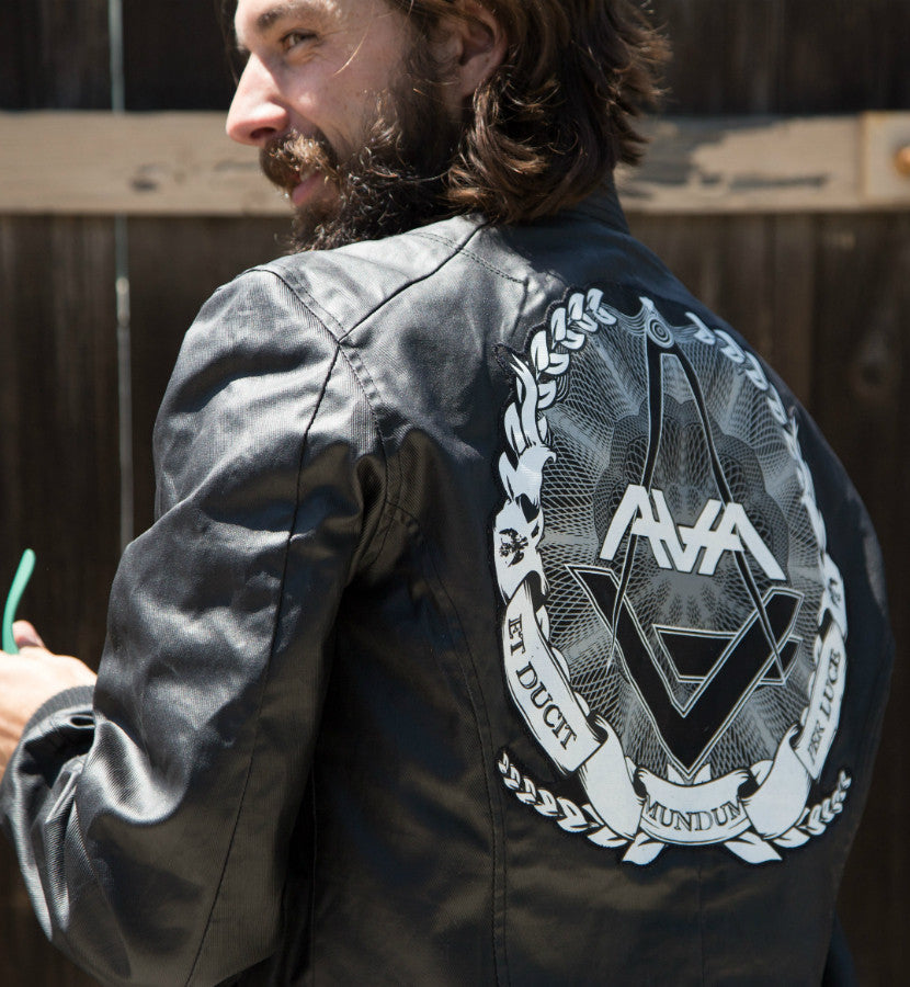 Angels and Airwaves-Custom AVA Crest Flight Jacket-small-To The Stars...
