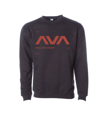 Angels and Airwaves Data Crewneck Sweatshirt Black/Red