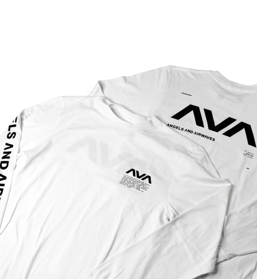 Data L/S T-Shirt White/Black