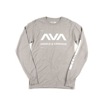Data L/S T-Shirt Concrete