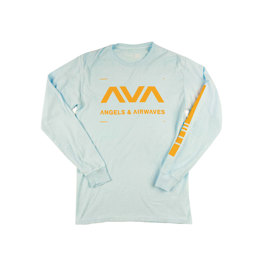 Data L/S T-Shirt Soothing Blue