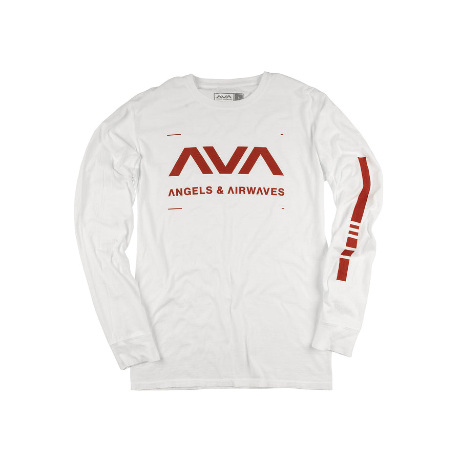 Data L/S T-Shirt White