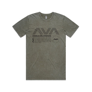 Angels and Airwaves Data Package T-Shirt Moss - To The Stars...