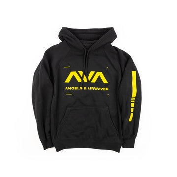 Angels & Airwaves Data Pullover Hoodie Black
