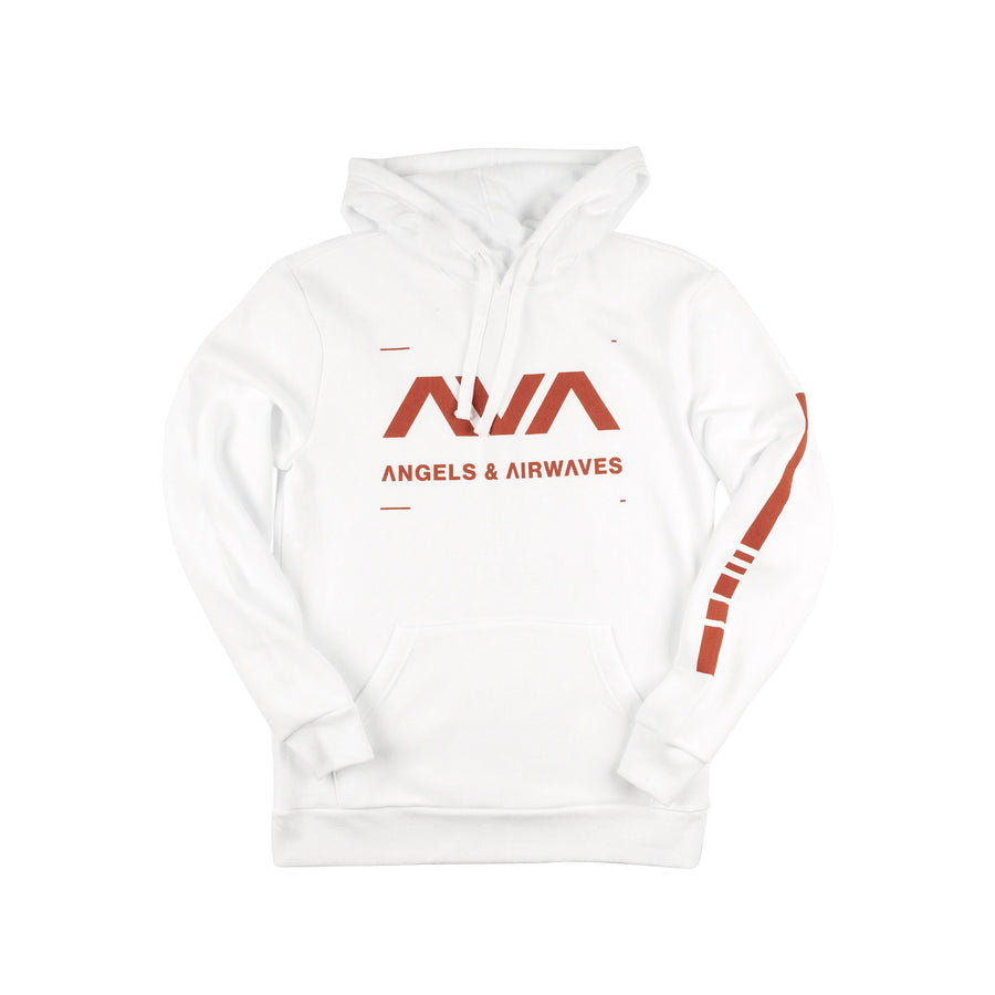 Data Pullover Hoodie White