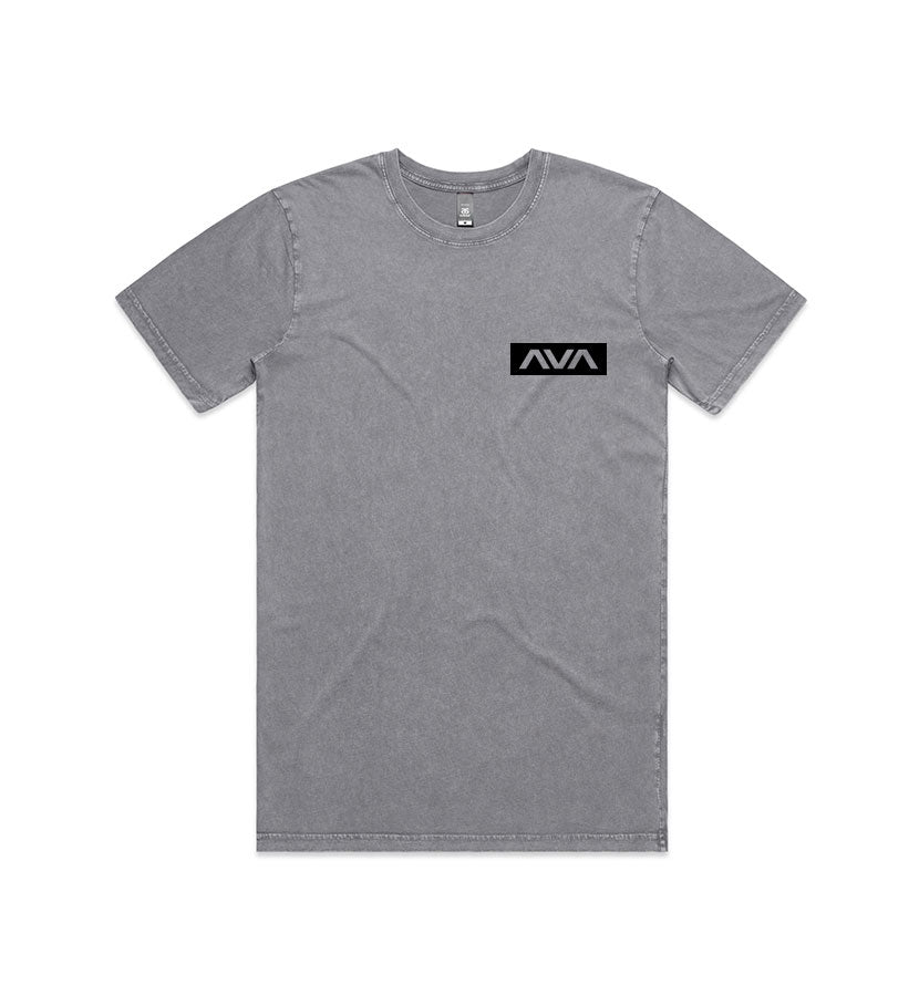 Data Stamp T-Shirt Ash Stone