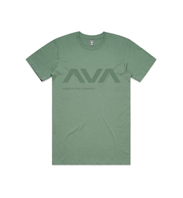 Angels and Airwaves Data T-Shirt Sage