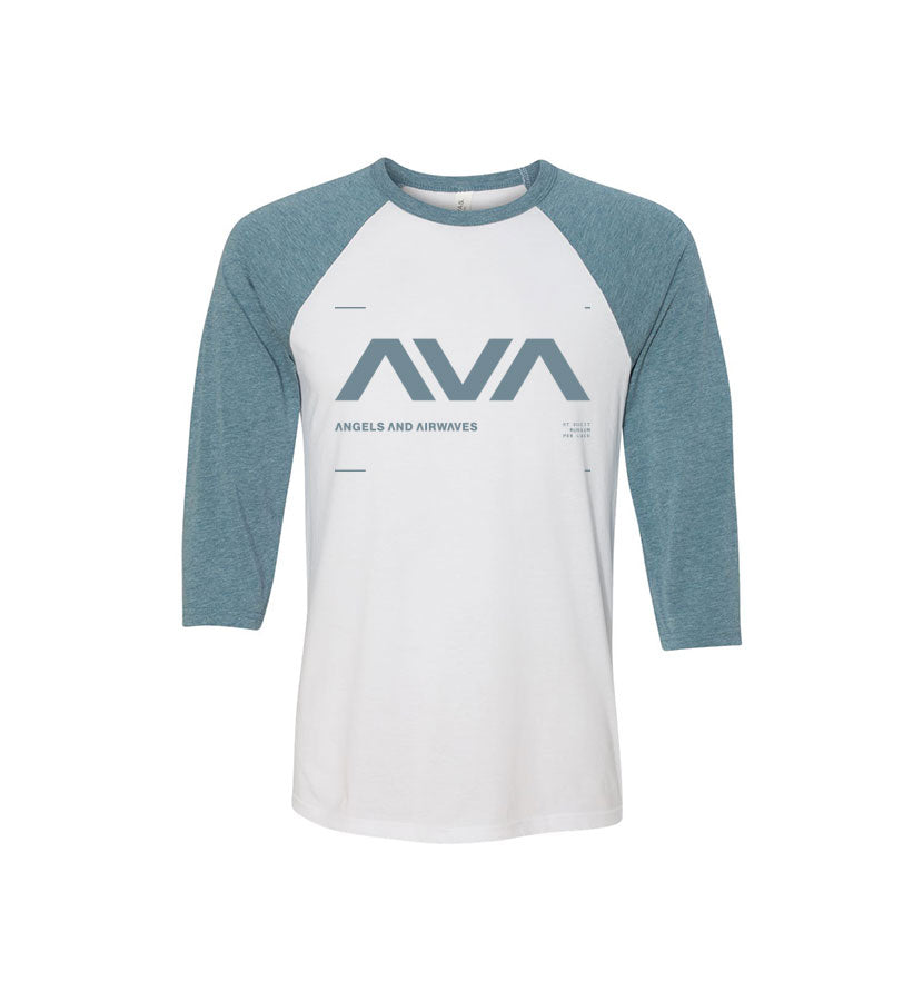 Angels and Airwaves Data Unisex Raglan White/Denim